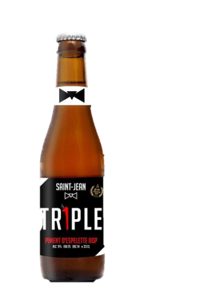 Biere TRiple piment