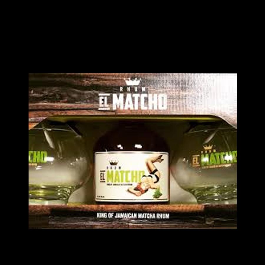 El Matcho Rhum Coffret 2 verres