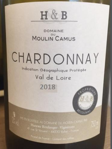 Moulin Camus blanc chardonnay