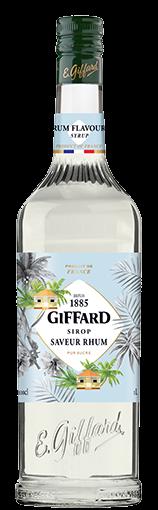 Sirop Giffard saveur rhum