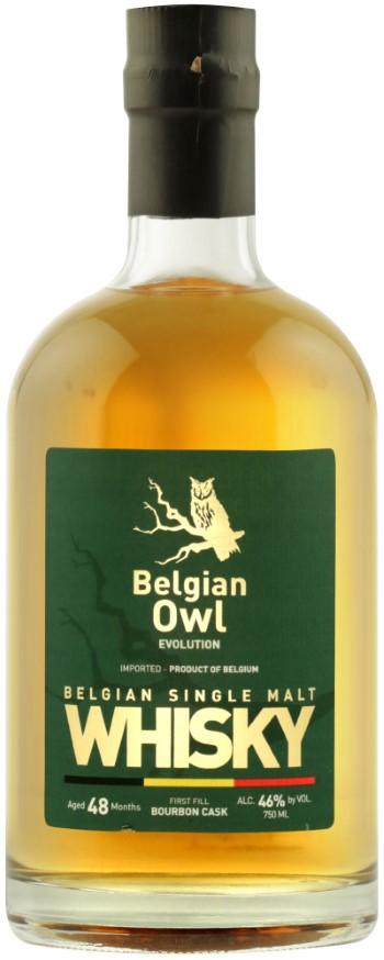 whisky belge belgian owl 48 mois 46°