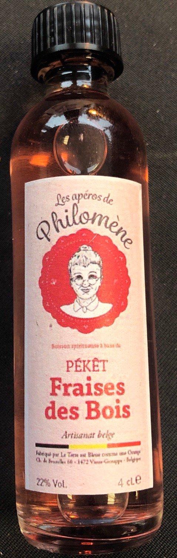 peket aperos philomene fraises des bois