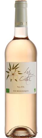 Vin rosé les Cistes