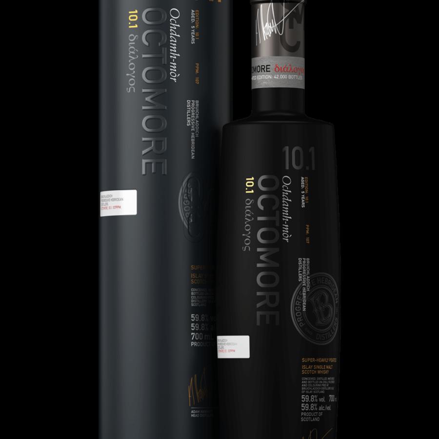 Bruichladdich octomore 10.1 - 70 cl - 58.8%