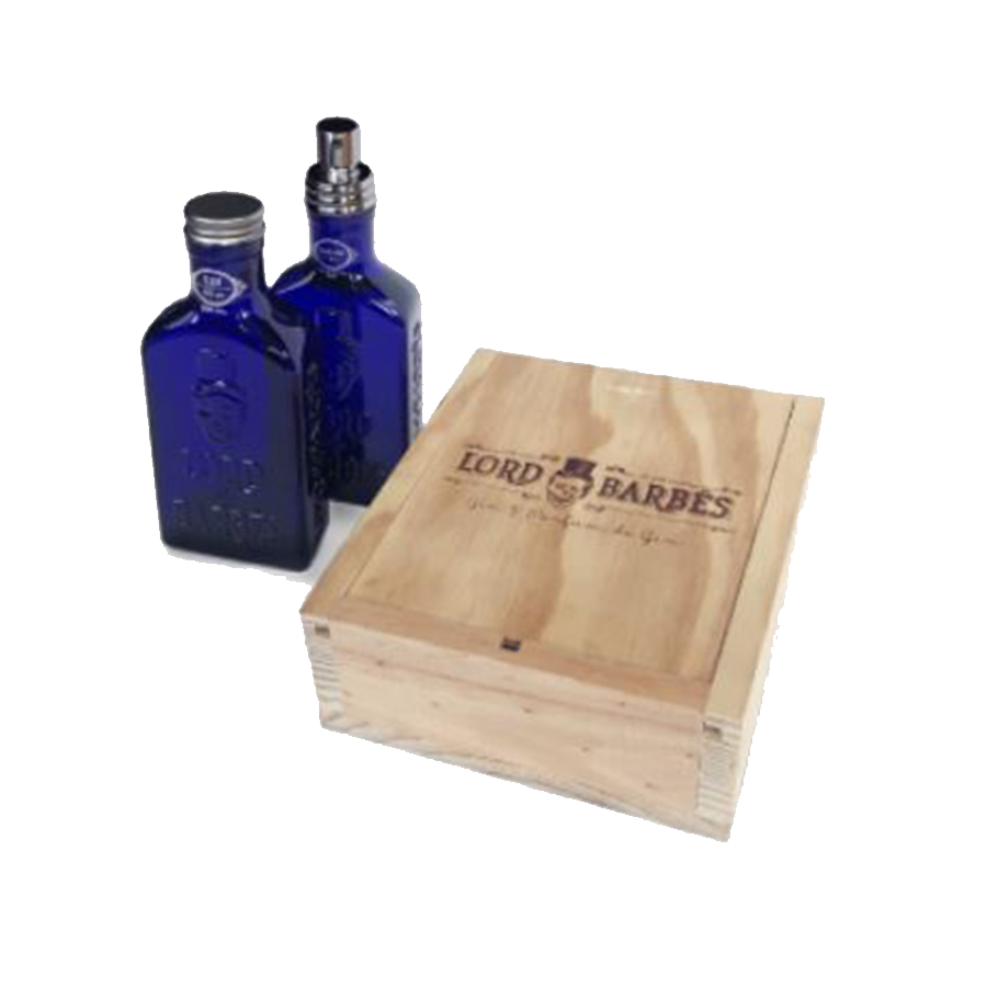 Coffret Lord Of Barbes Gin 50ml 50° + parfum 50 ml