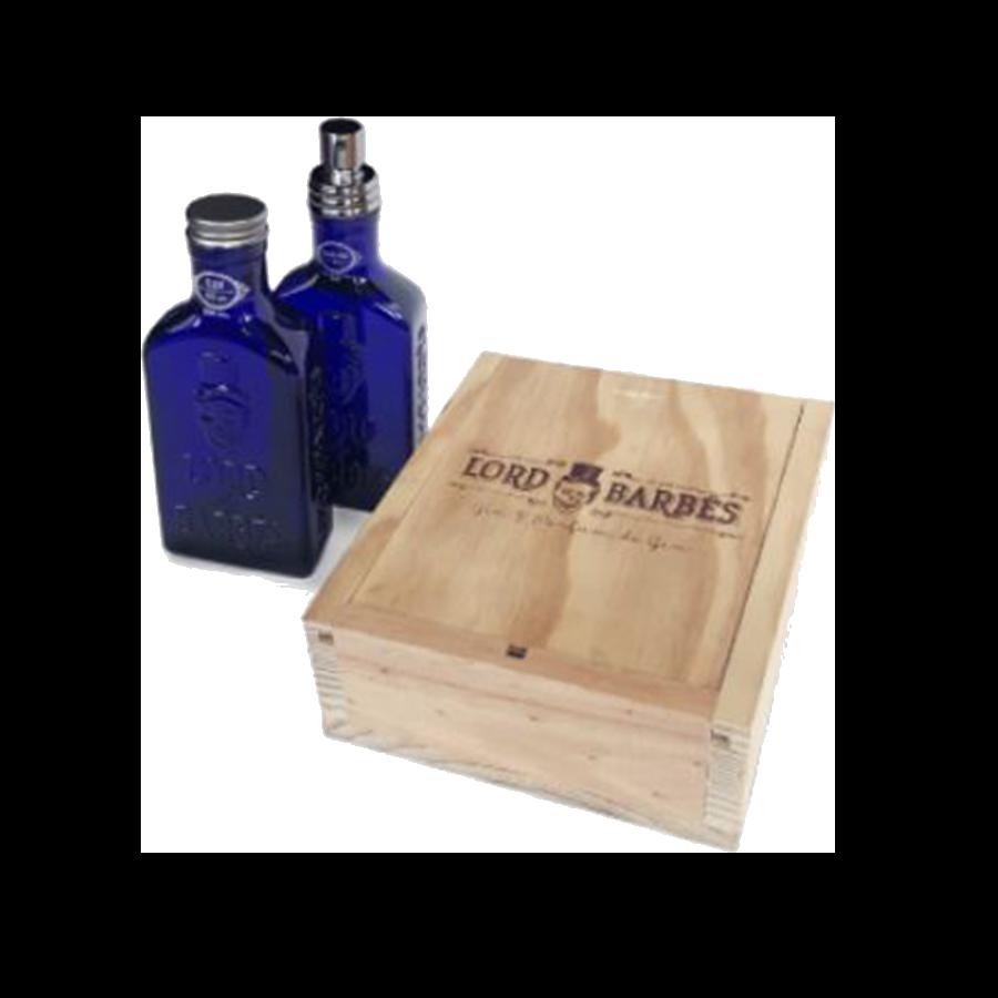 Coffret Lord Of Barbes Gin 50ml 50° + parfum 50 ml