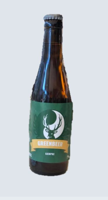 Green Beer Siempre Belge