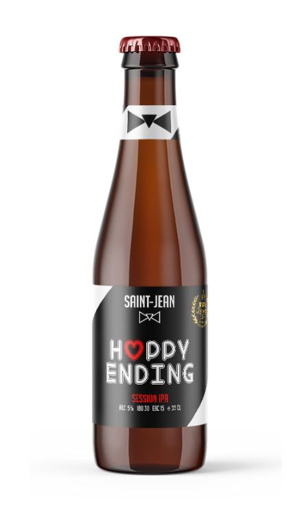 Bière Saint jean - Hoppy Ending - 33 cl - 5%