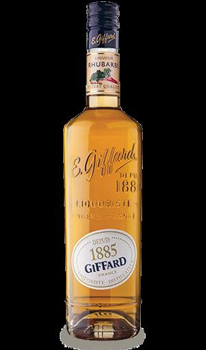 Liqueur Giffard Rhubarbe - 70 cl - 20%