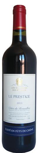 Côtes Rousillon Alberes Prestige Vin rouge 2017