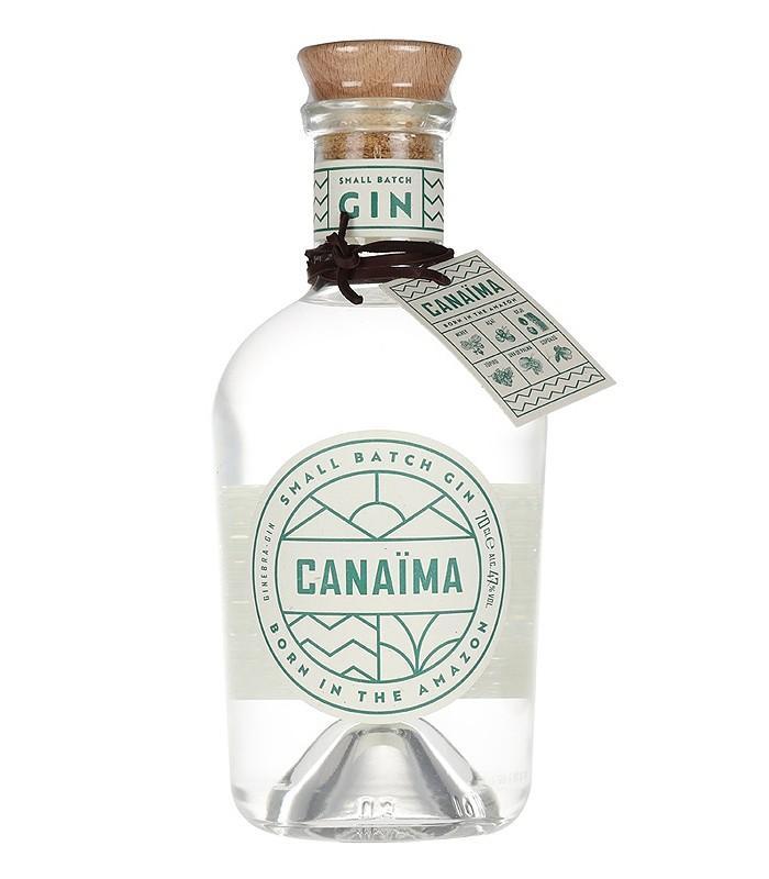 Canaïma Gin - 70 cl - 47% alc
