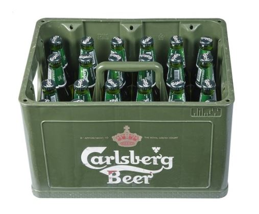 Casier Carlsberg 5.5% - 24x25cl