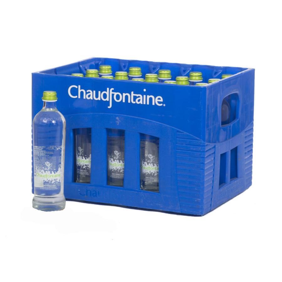 Casier Chaudfontaine légèrement pétillante bouteilles consignées