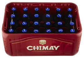 Casier Chimay Trappiste Bleue 24x33cl