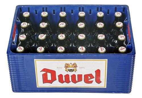 Casier Duvel Blonde 24x33cl bouteilles consignées