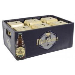 Casier Maredsous 8° Brune 24x33cl bouteilles consignées