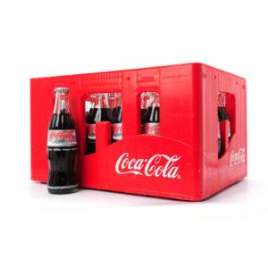 Casier Coca Cola Light bouteilles consignées