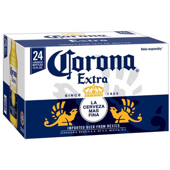Pack Corona Extra 24x33cl non consignées