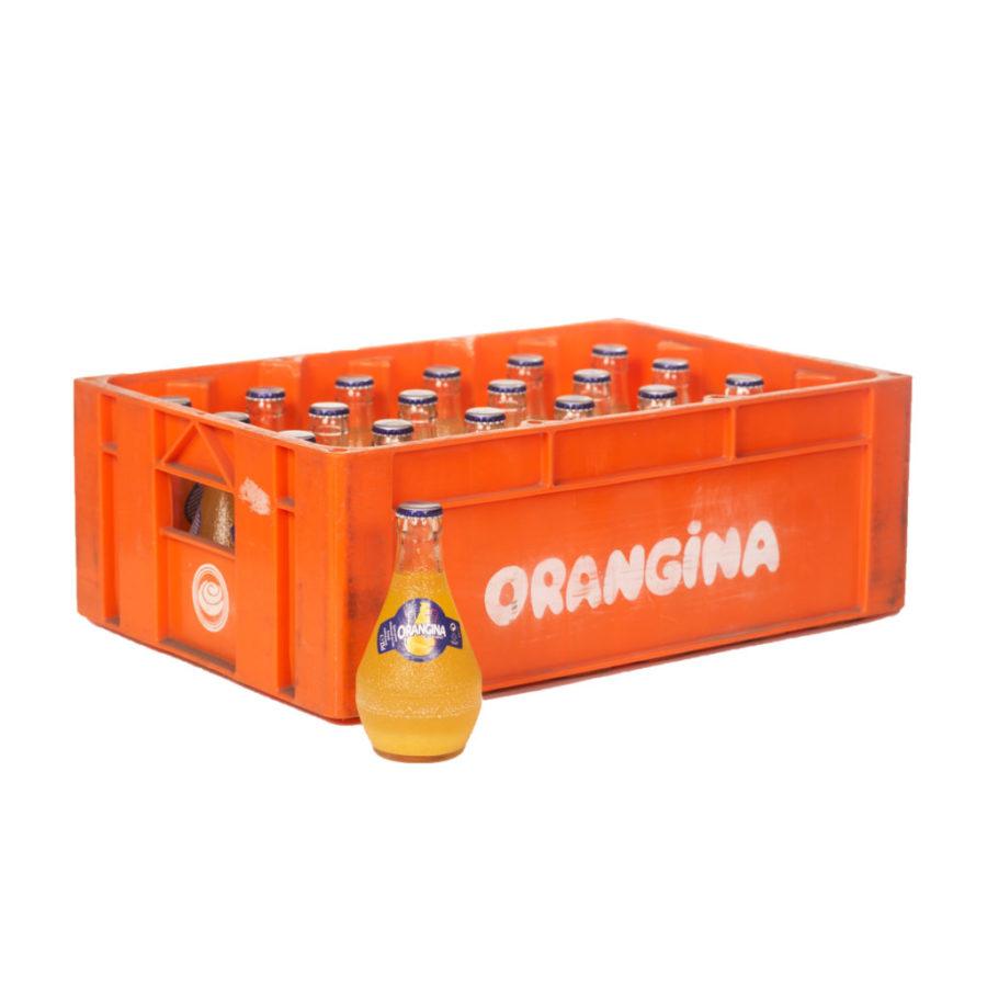 Casier orangina 24x25cl en bouteilles consignées