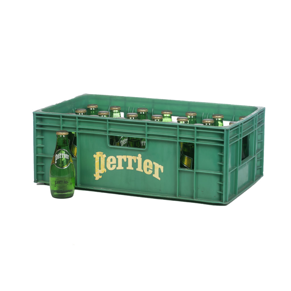 Casier Perrier 28x20cl en bouteilles consignées