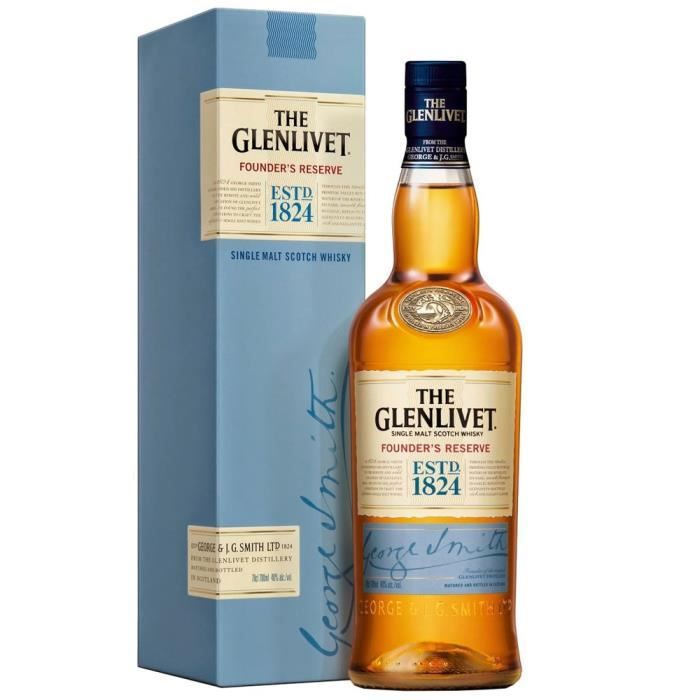 The Glenlivet founder's reserve - 70cl - 40% alc