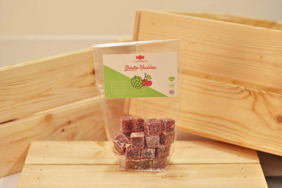 pâte de fruit 100% naturelle griotte houblon