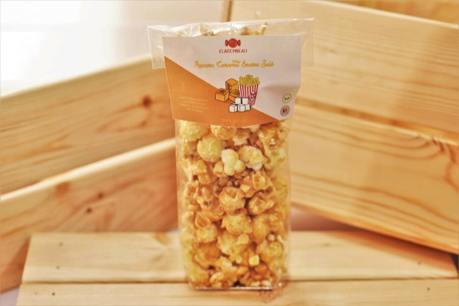 popcorn caramel beurre salé artisanal