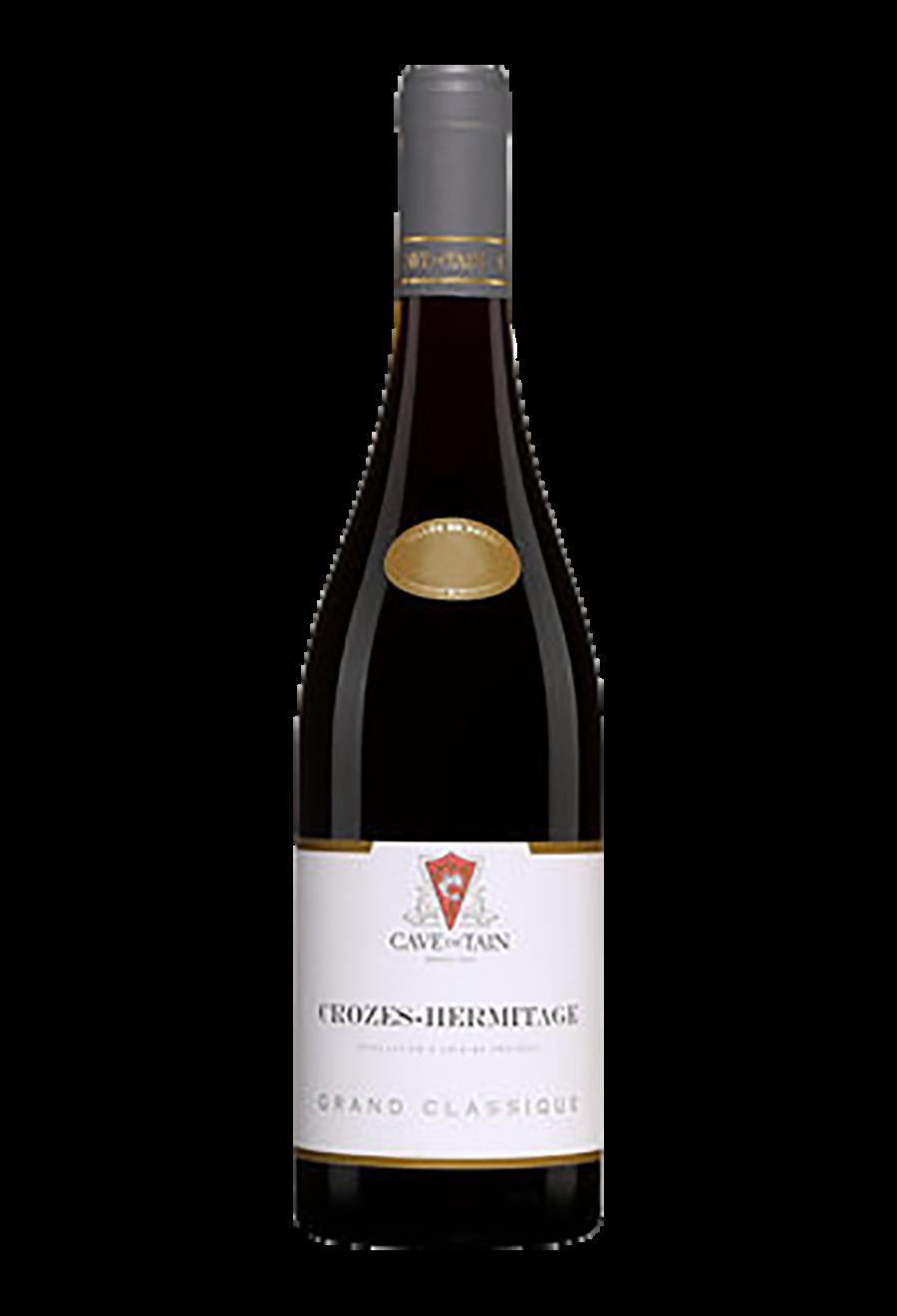 vin rouge crozes hermitage grand clssique 2018 vallée du rhone