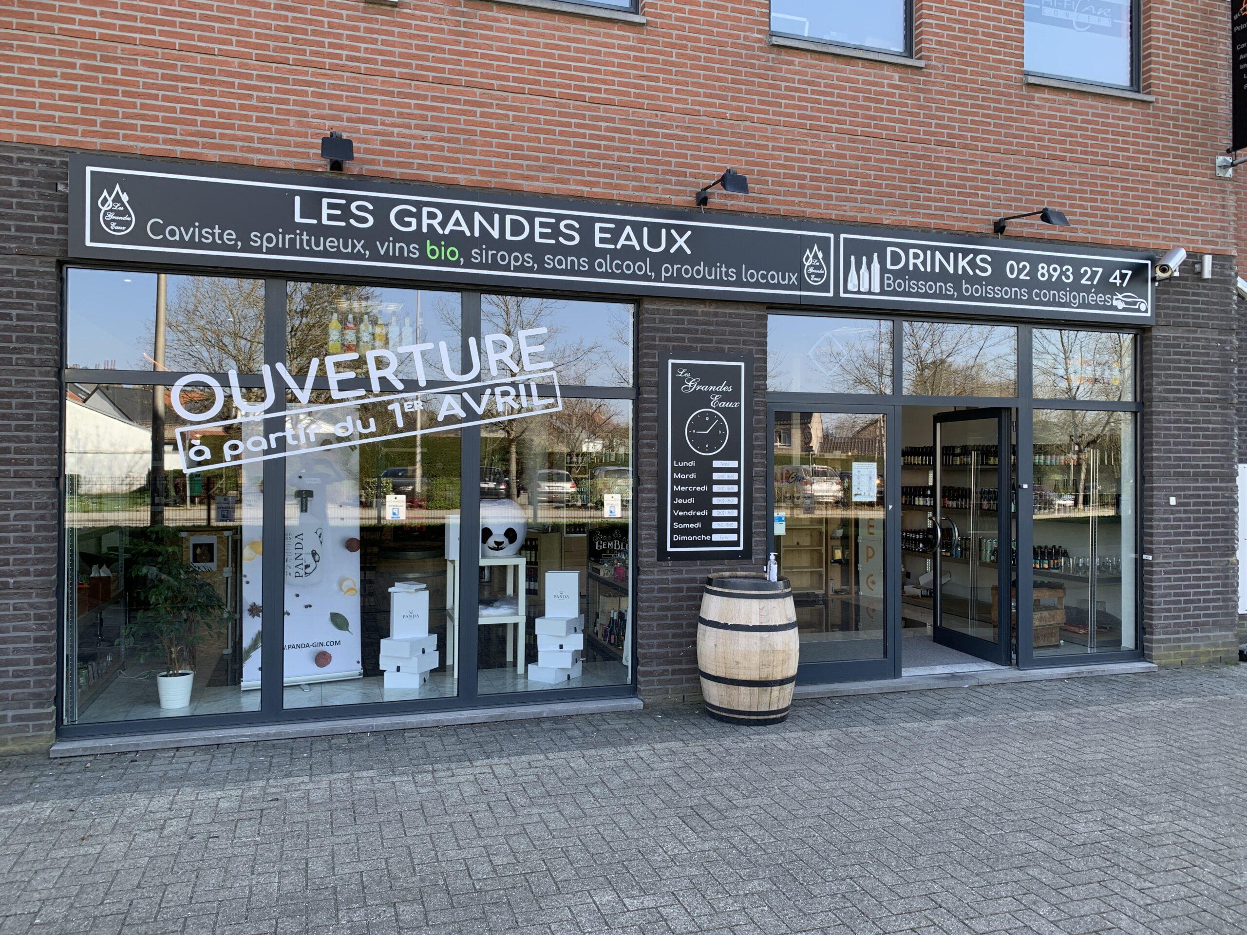 Le nouveau magasin/ drive in Les Grandes Eaux est actif depuis ce 1er avril..parking privé !!