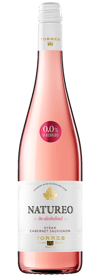 Torres Natureo Vin rosé sans alcool syrah cabernet sauvignon 2018