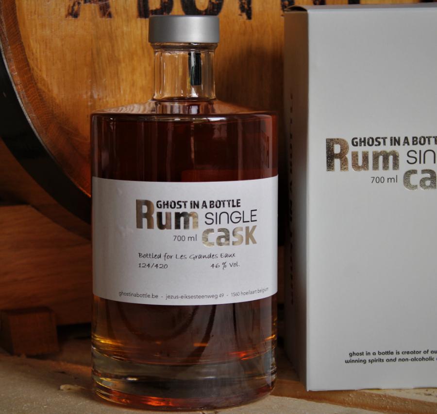 Rum single cash double aged For Les Grandes eaux