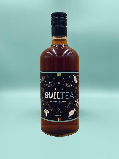 the alcoolisé bio et belge guiltea
