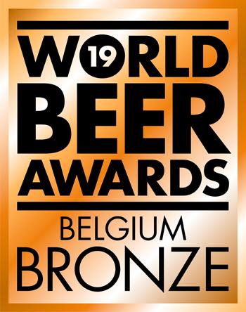 Medaille de bronze World Beer Awards 2019