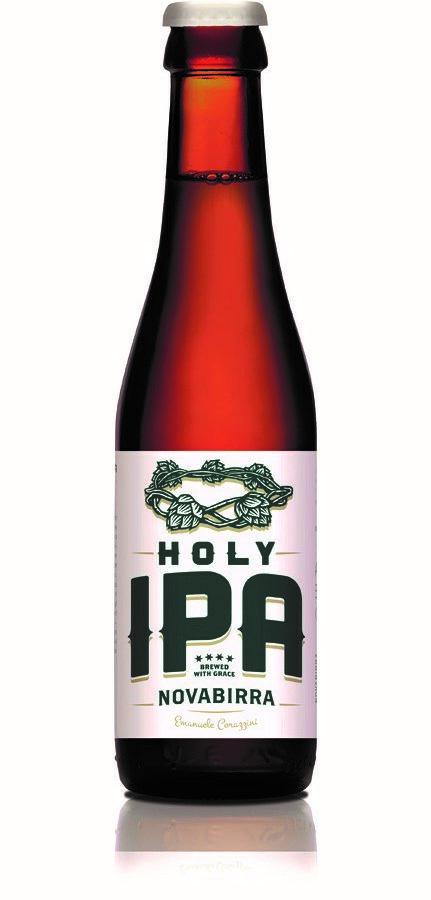 HOLY IPA Nova Birra biere belge