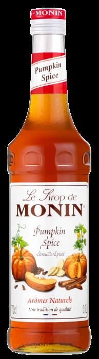 SIROP Monin CITROUILLE ÉPICÉE 70 CL